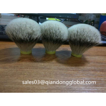 Brochas de afeitar de pelo High Badger White Badger