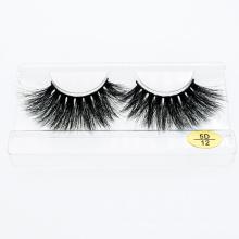 2021 Hot Sale 3D 25mm Mink Eyelashes Customize Box Wholesale Lashes