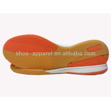 Rubber soles indoor soccer shoes outsole 2013