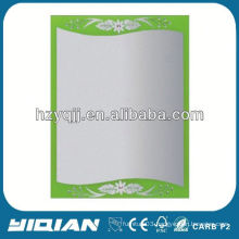 Modern Decorative Painting Sliver Bathroom Mirror