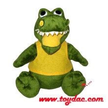 Plush Cartoon Animal Toy Crocodile