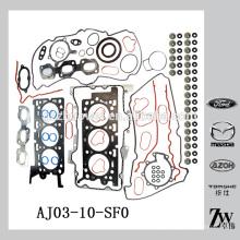 Ensemble de joint de moteur supérieur haute qualité pour Mazda Tribute MPV For-d Escape AJ03-10-SF0