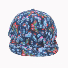 Fashion Blue Lace Snapback Cap (GKA15-F00045)