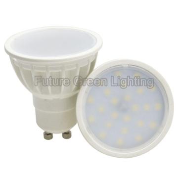 Preiswerteste Plastik 3W / 5W GU10 2835SMD LED-Punkt-Lampe