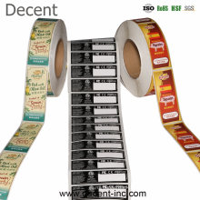 Manufacturers Decent Custom Private Brand Name Printing Logo Adhesive Roll Labels Stickers for Packaging