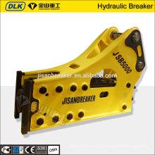 O CE aprovou o tipo hidráulico lateral disjuntor de SB151 Soosan para a máquina escavadora PC450