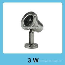 12V 3W IP 68 führte Unterwasserlicht