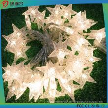 Форме звезды декоративные светодиодные строки свет занавеса