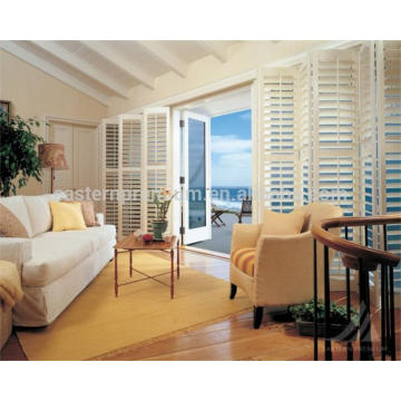 quality pvc plantation shutter and wooden shutter from china