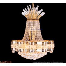 Отель декоративный Малый Золотой Кристалл Кулон Люстра освещения ЛТ-78152
