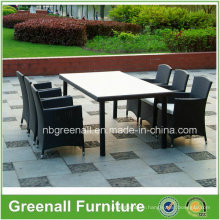 All Weather 6 Person Patio Dining Garden Outdoor Furniture