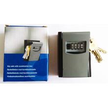 Сейф с ключом, Комбинированный замок, 4-значный держатель ключей, Al-280