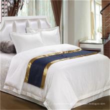 Luxury Hotel Premium Soft Sateen Weave 100 Juego de sábanas de algodón