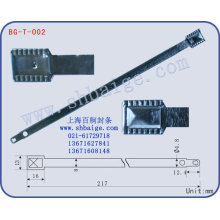 Security metal strap seal BG-T-002