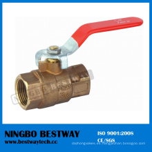 Productor superior de la válvula de bola de bronce de la venta (BW-Q01)