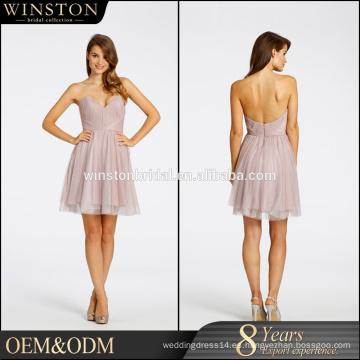 De alta calidad vestidos de dama de honor magníficos