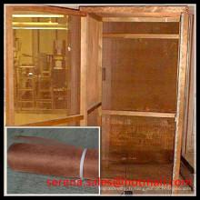 recherche professionnelle emi blindage faraday cage cuivre tissu