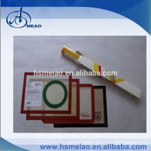 Estera de la hornada del silicón del palillo de la fibra de vidrio al por mayor de la calidad alimenticia