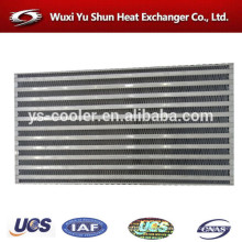 manufacturer of aluminum plate type intercooler core