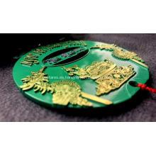 Medalla de zinc enchapado en dos colores Creative Custom 2020