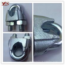 Hot DIP verzinktem DIN 741 Metalldrahtseil Clips