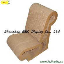 Оптовые бумажные стулья / картонная табуретка / картонная мебель с SGS (B & C-F011)