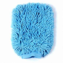 Super Microfiber Mitt for Car Washing, Hand Protection with Hang Loop