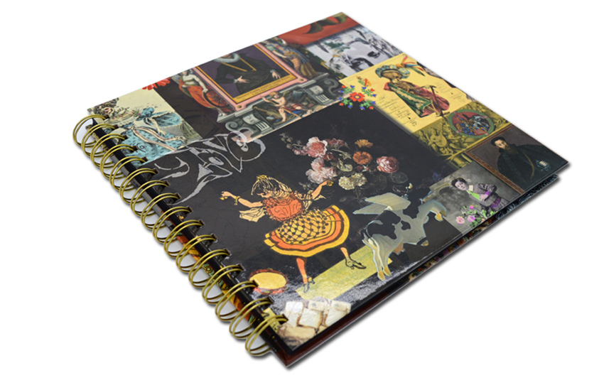 spiral binding notebook
