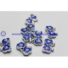 Evil eye beads butterfly craft enamel evil eye charm pendant