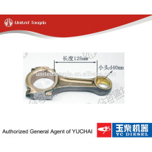 Pièces de moteur originales de moteur de Yuchai YC4E bielle E0200-1004200 pour le camion chinois
