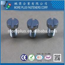 Fabricado em Taiwan Stainless Steel Saw Slotted Fillister Head Machine Screw