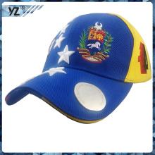 Promoción bordada de calidad superior Sombrero personalizado MOQ 50 del abrelatas de botella de la cerveza
