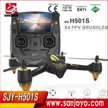 Hubsan H501S X4 RC Drone Com Câmera 1080 P HD GPS Siga Me Modo / Retorno automático / Headless Toy 5.8G FPV Quadcopter SJY-H501S