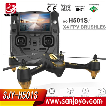 Hubsan H501S X4 RC Drone con la cámara 1080P HD GPS Sígueme Modo / Retorno automático / sin cabeza 5.8G FPV Quadcopter SJY-H501S