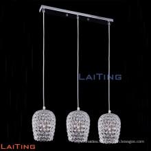 Modern 3 lights led hanging pendant light lamp chandelier 71114