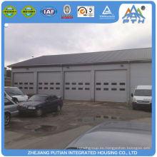 Moderno producto de acero de seguridad puerta de acero estructura coche garaje