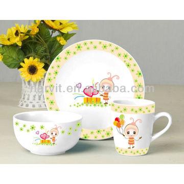 Ceramic Giftware Kinder Frühstückssets