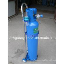 10L медицинский кислородный баллон с газовым баллоном