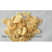 Garlic Flake Withroot Top Qualtiy Air Dehydrated
