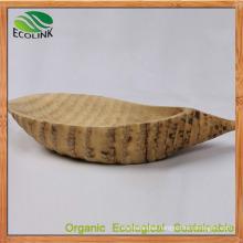 Bamboo Root Dish Bamboo Food Plate