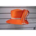 Fashion Satin Ribbon Church Formal Hats