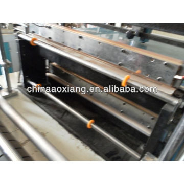 Computer control rolling T-shirt & flat bag making machine polypropylene bag making machine