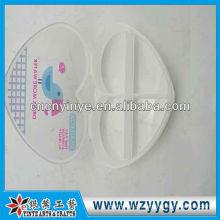 Benutzerdefinierte Herz Form Kunststoff Pillenbox, OEM-Pill-Box drucken
