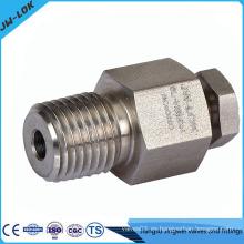 Válvula de purga de acero inoxidable de alta presión