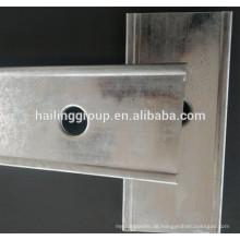 Trockenbau Metallbolzen und Schienen Großhandel Metallbolzen Gewicht pro Fuß