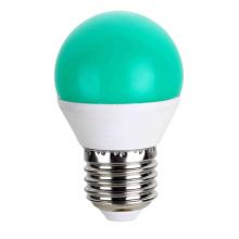LED bombillas Color verde G45 5W AC175 ~ 265V