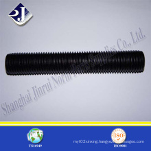 Thread Rod with Black Oxide