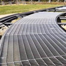 Couvre route / tranchée du parc à grille en acier galvanisé