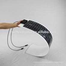 Panneau solaire flexible pour bateaux