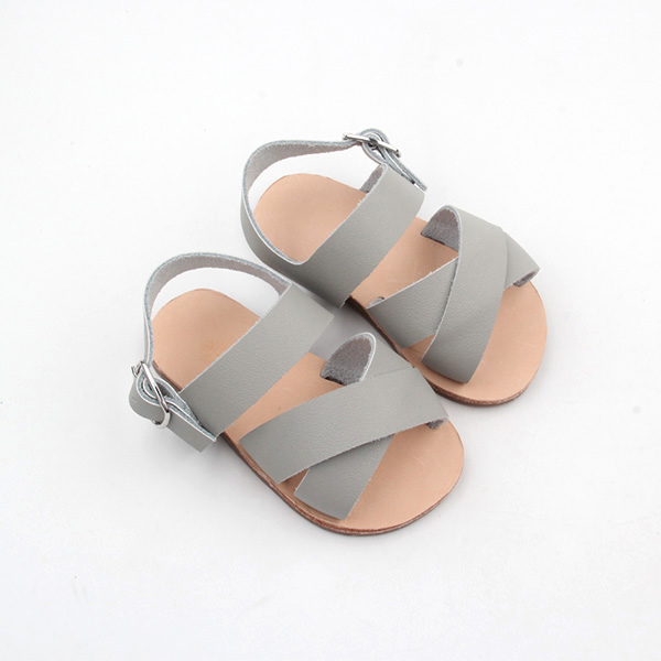 Kids Leather Sandals